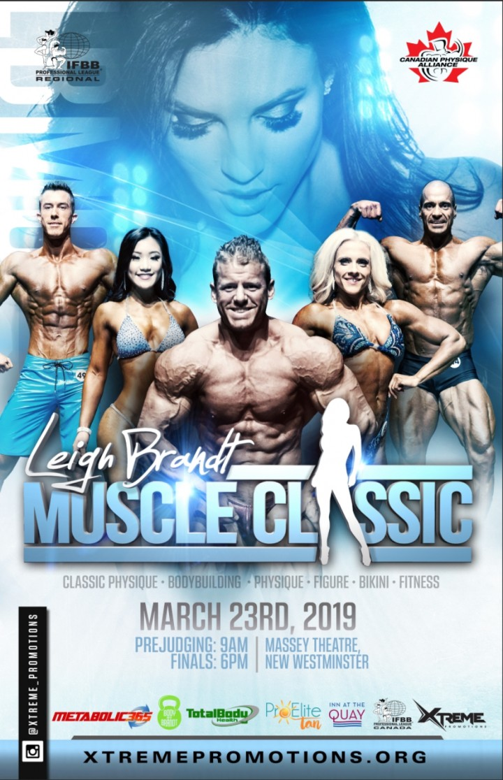 2019 LEIGH BRANDT MUSCLE CLASSIC