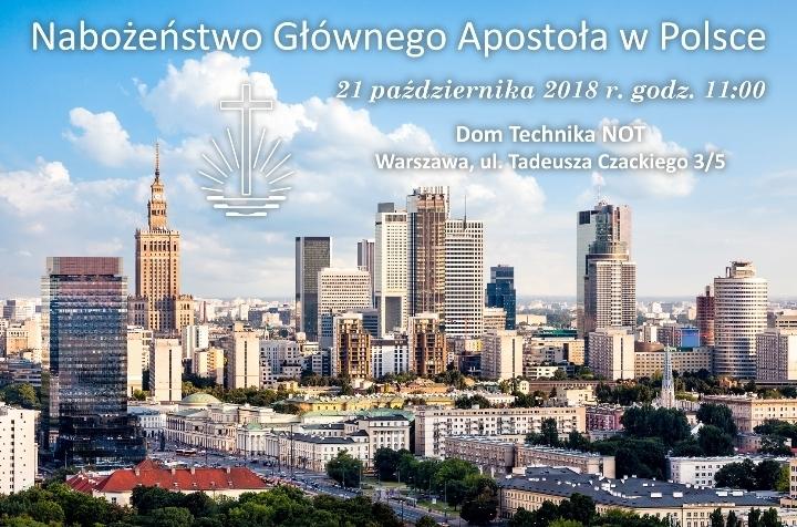 Nabożeństwo Głównego Apostoła w Polsce