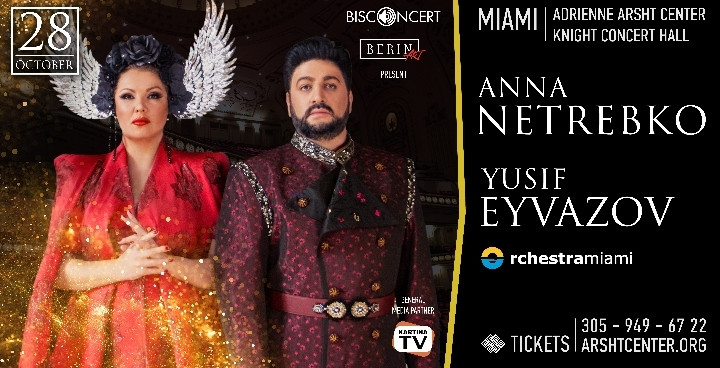 Anna Netrebko and Yusif Eyvazov - The world's