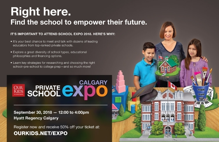 OUR KIDS Calgary Private School Expo & Inform