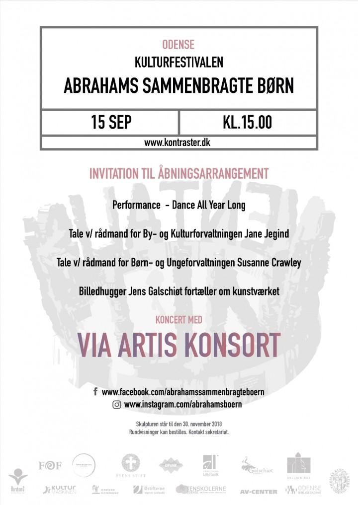 KULTURFESTIVALEN ABRAHAMS SAMMENBRAGTE BØRN