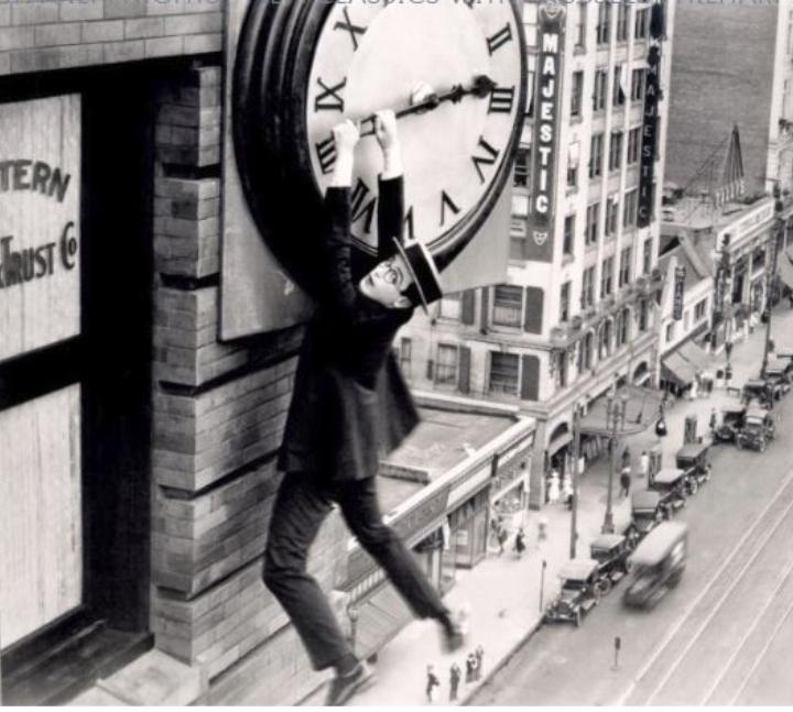 SAFETY LAST (HAROLD LLOYD, 1923, USA, 73', BW, SILENT)