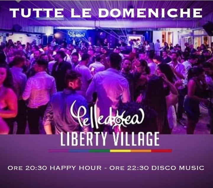 Domenica è Aperitivo al Liberty Village!
