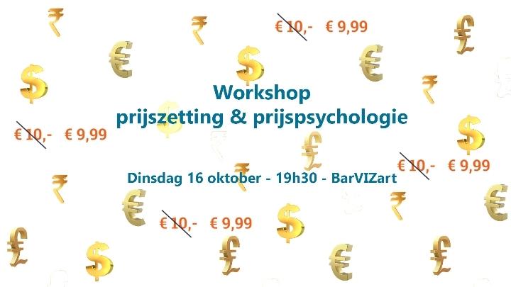 Workshop: prijszetting en prijspsychologie