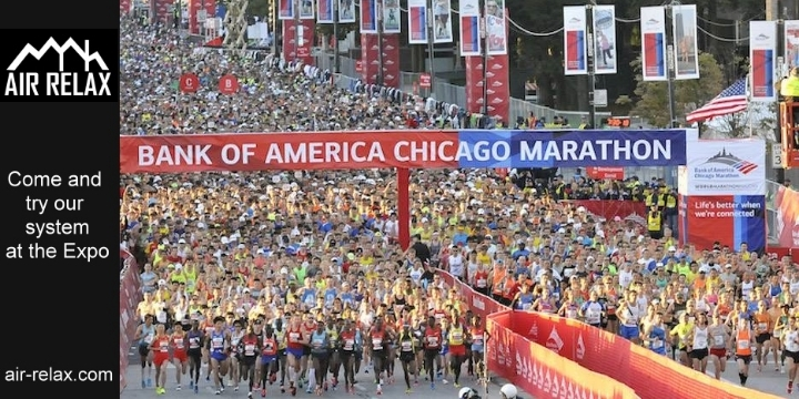 2018 BoA Chicago Marathon - Air Relax USA