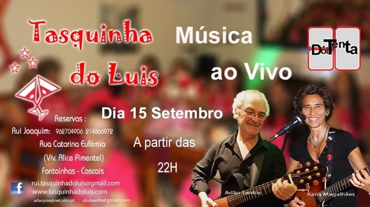 `Doi'Tenta` Tasquinha do Luís 15-09-2018