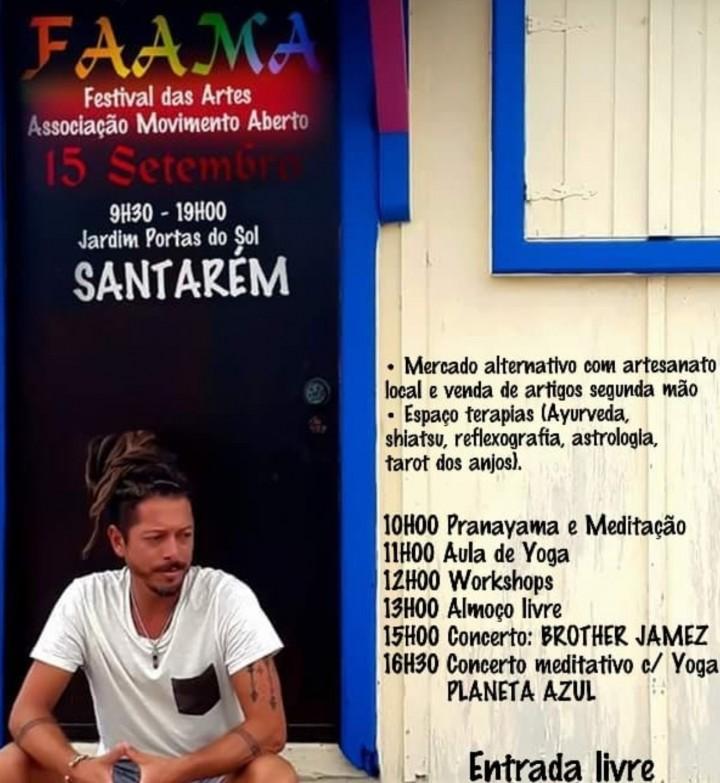 FAAMA - Festival Das Artes Praticadas na Ama Associação Movimento Aberto