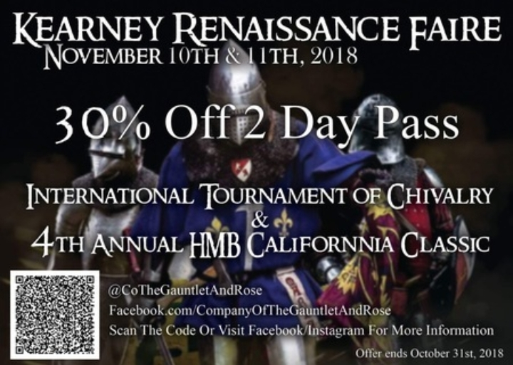International Tournament of Chivalry & 4th Annual HMB California Classic