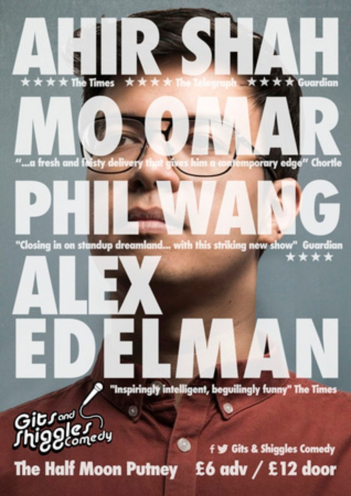 Stand up Comedy with Phil Wang Live at Half Moon Putney London Tues 2 Oct