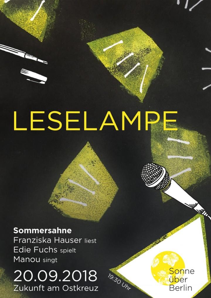 Leselampe `Sommersahne`