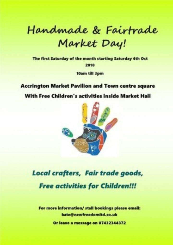 Craft fair!! Handmade and Fairtrade Market Da