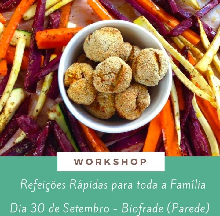 Workshops Refeições Práticas e Saudáveis