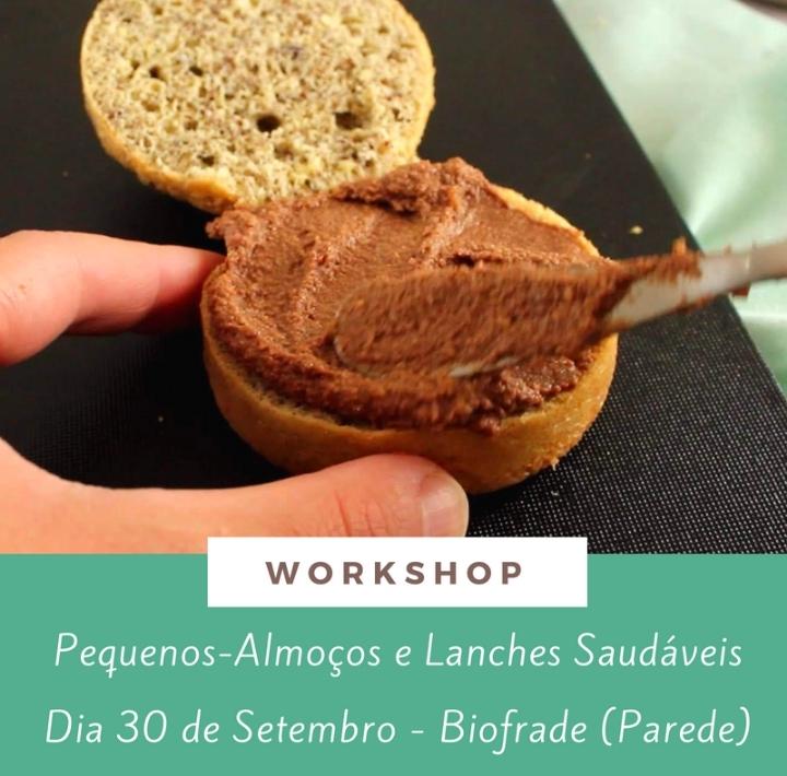 Workshop Pequenos almoços e lanches saudáveis