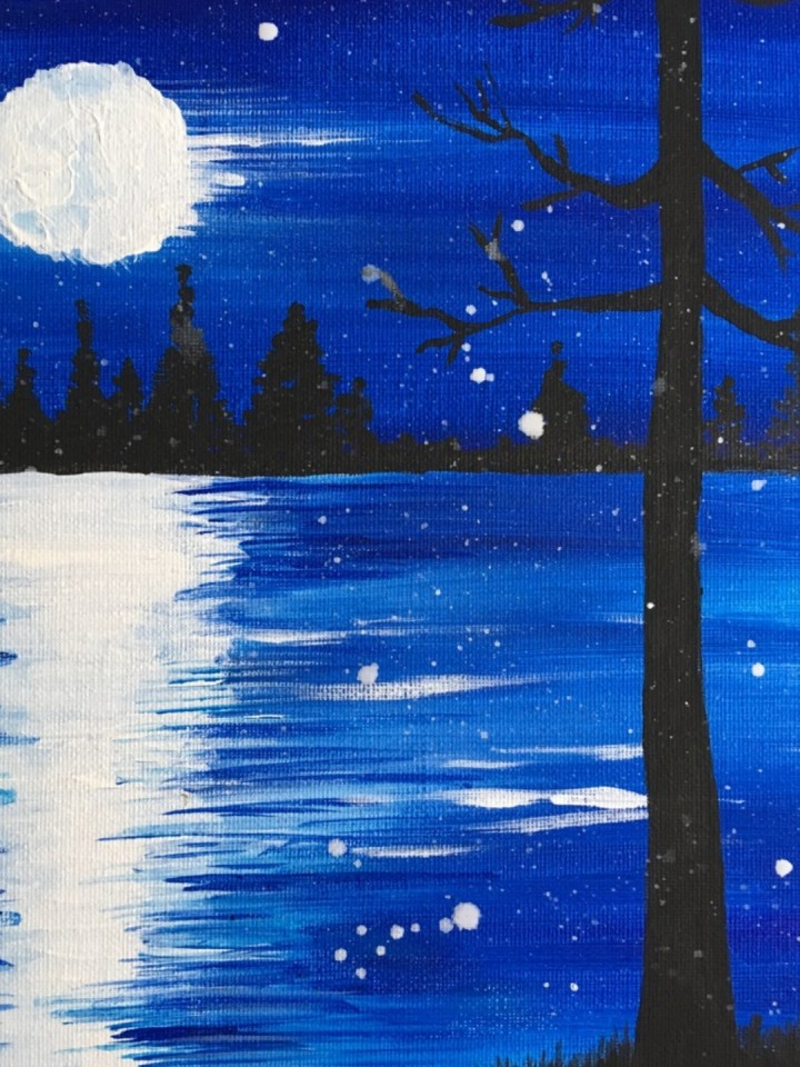 Beginner painting class - Canvas and Coffee