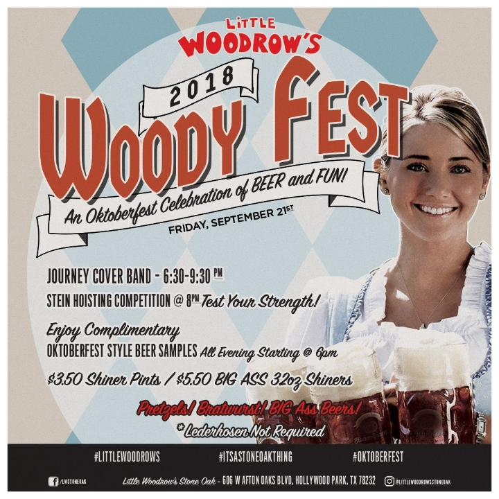 Woody Fest 2018 Oktoberfest Celebration!