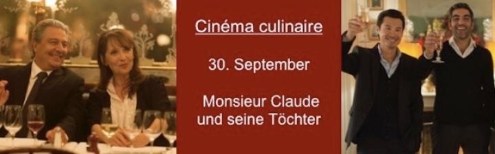 Kulinarisches Kino am 30.9.2019
