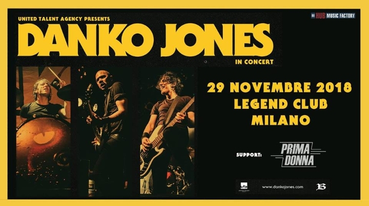 Danko Jones @ Legend Club - Milano