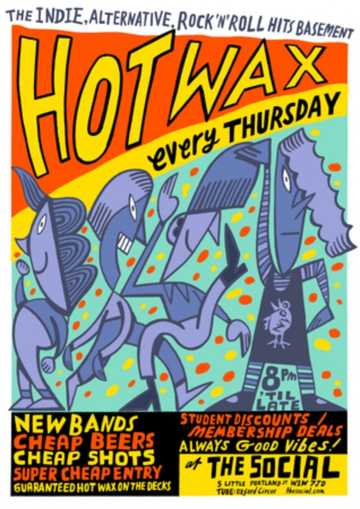 HOT WAX: The Indie, Alternative, Rock 'N' Rol