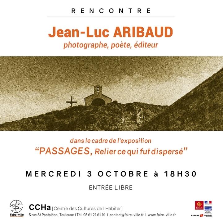 Rencontre avec Jean-Luc ARIBAUD, photographe,