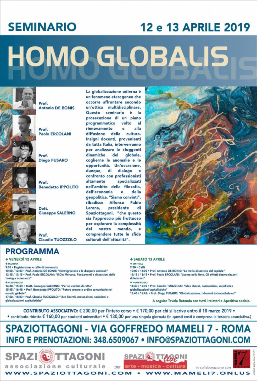 Seminario Homo Globalis