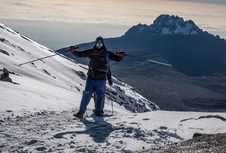December on Kilimanjaro!
