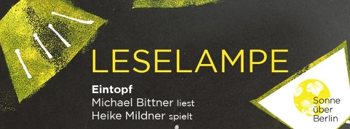 Leselampe mit Michael Bittner & Heike Mildner