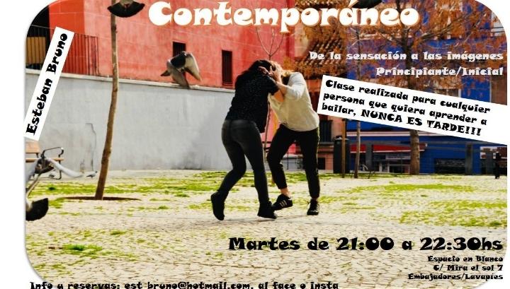 """Contemporáneo: Principiantes """"Clase abierta"""""""