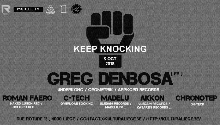 Keep Knocking Invites GEOMETRIK Records.