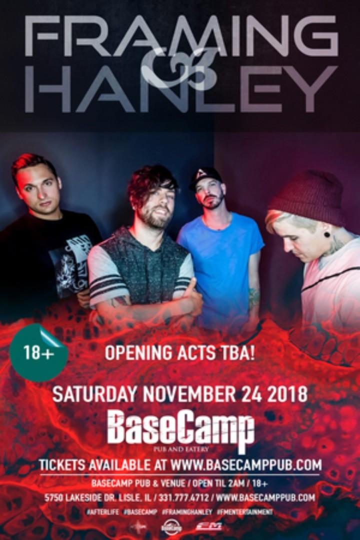 Framing Hanley Live at Basecamp! - 24 NOV 2018