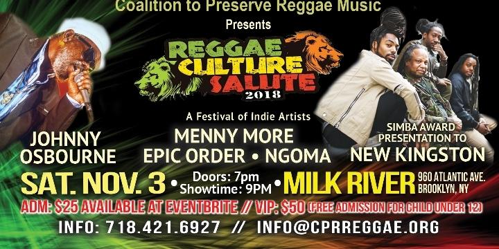 Reggae Culture Salute 2018