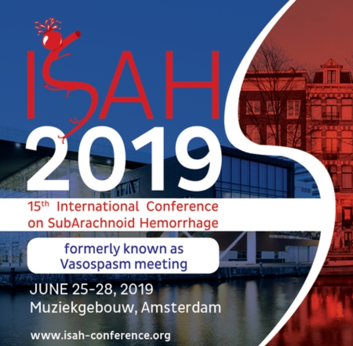 ISAH 2019: 15th International Conference on SubArachnoid Hemorrhage 2019