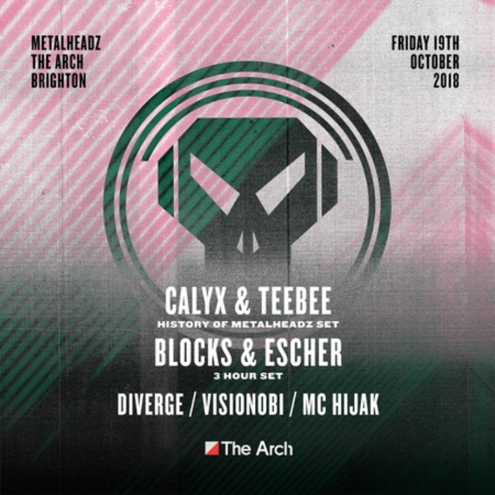 Metalheadz Brighton at The Arch w/ Calyx And