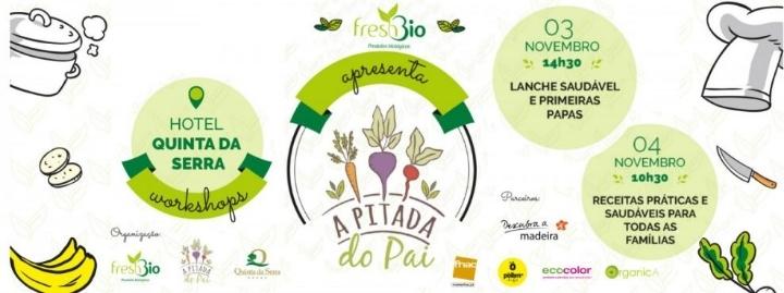 Workshops Madeira - Receitas Práticas e saudáveis para toda a família