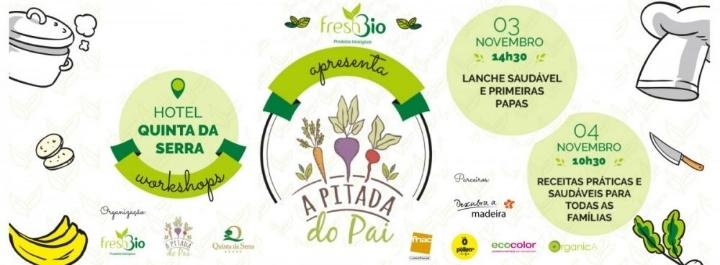 Workshops Madeira - Lanches Saudáveis e primeiras papas