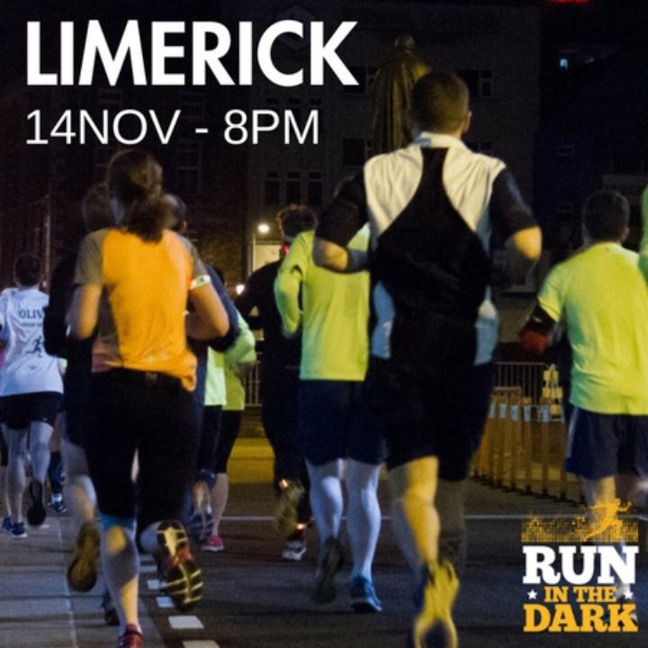 Run in the Dark Limerick 5K and 10K Option