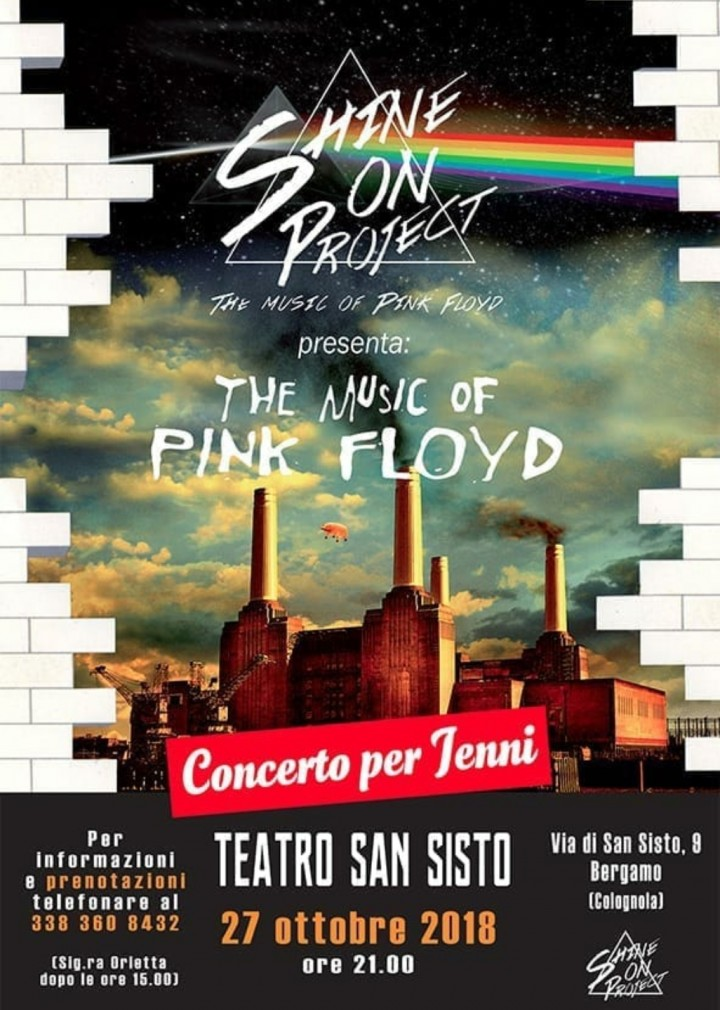 SHINE ON PROJECT - PINK FLOYD TRIBUTE