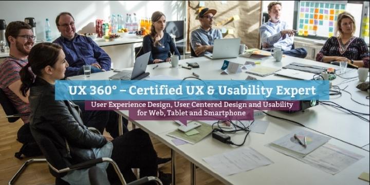 UX 360° – Certified UX & Usability Expert (en