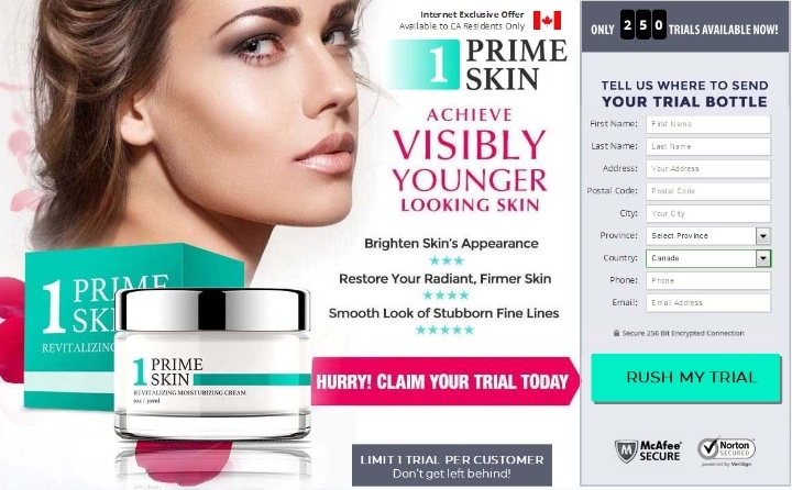 Cream Prime Skin Canada ; Reviews, Side Effects and Price!