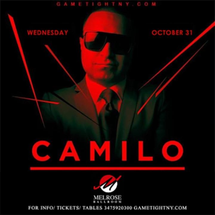 Dj Camilo Halloween Party at Melrose Ballroom 2018