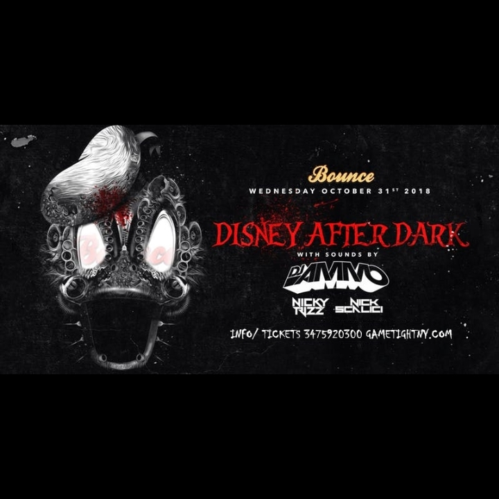 Disney After Dark at Bounce NYC Halloween Night 2018