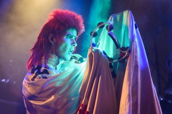 Absolute Bowie celebrate the life of David Bowie in Runcorn - January 19'