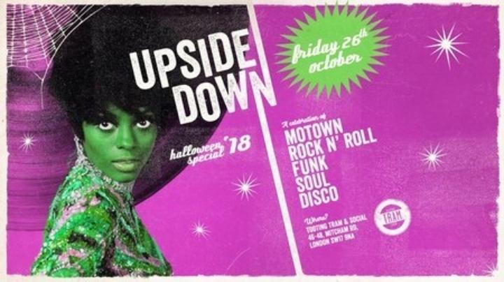 Upside Down: Motown, Disco & Soul - Halloween Special