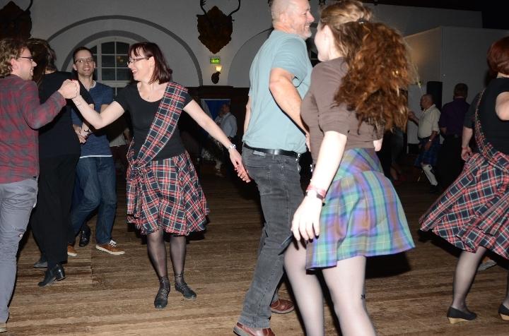 Schottischer Ceilidh-Tanzabend