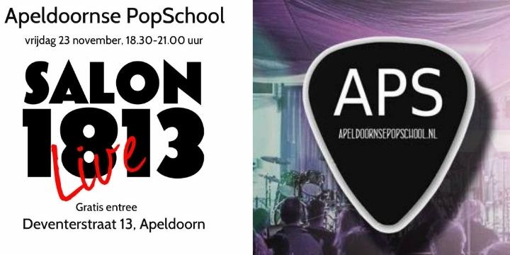 Salon Live - Apeldoornse PopSchool