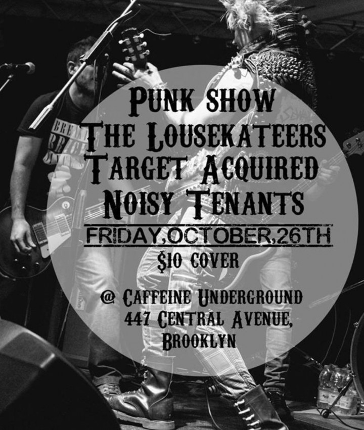 Punk show: The Lousekateers Target Acquired N