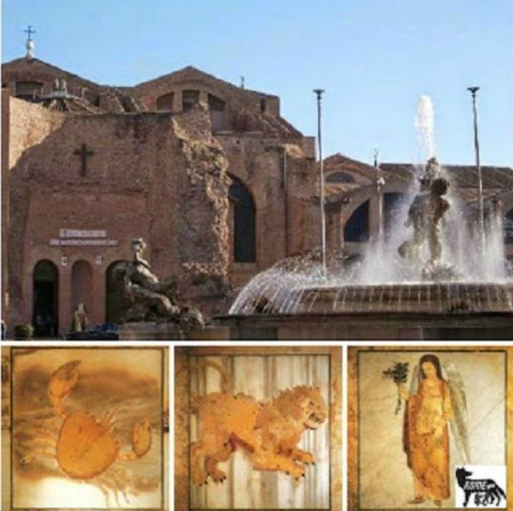 Michelangelo e l'antico: Santa Maria degli An