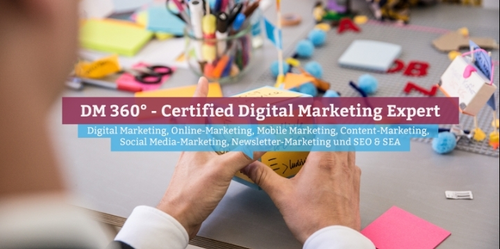 DM360° – Certified Digital Marketing Expert,