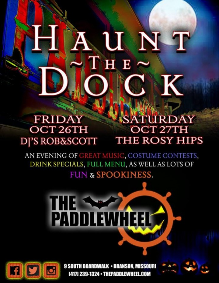 Haunt the Dock! at The Paddlewheel