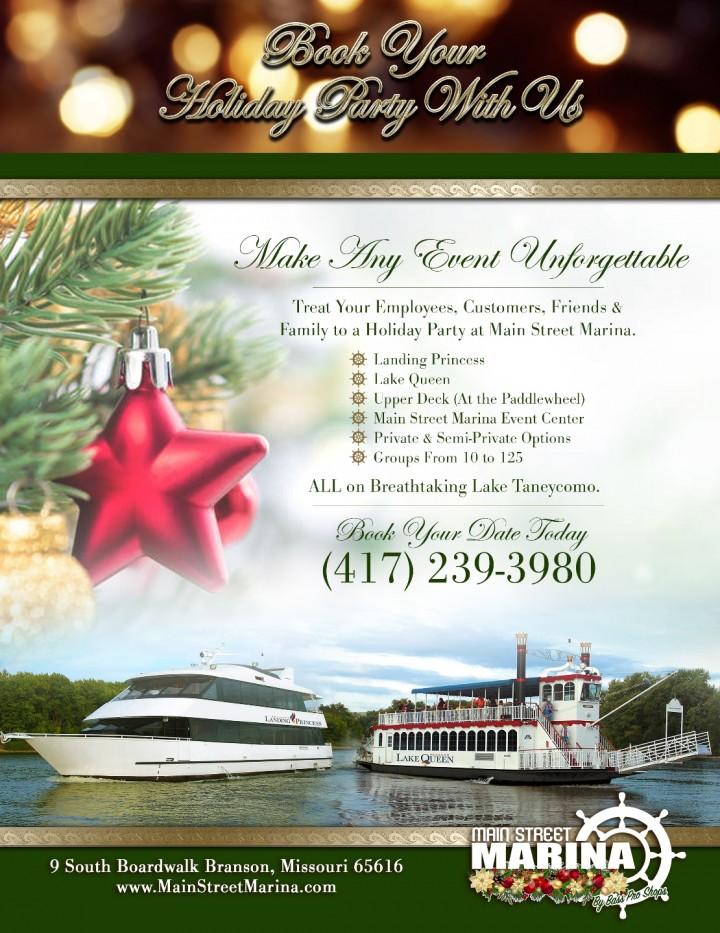 Holiday Parties at Main Street Marina