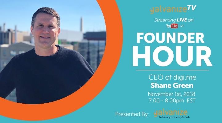 Founder Hour with Shane Green: digi.me